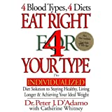 Eat Right 4 Your Type: The Individualized Diet Solution to Staying Healthy, Living Longer & Achieving Your Ideal Weight ~ Peter J. D'Adamo