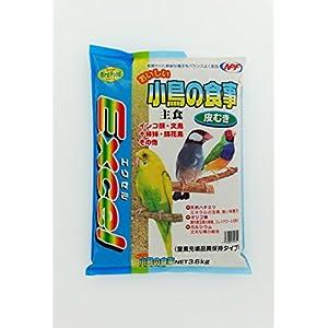 ナチュラルペットフーズ おいしい小鳥の食事皮むき 3.6kg