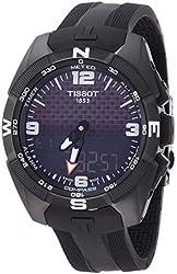 Tissot T-Touch Expert Solar Black Dial Rubber Men's Watch T0914204705701