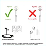 Zeskit 6 Premium Audio Cable - 3.5mm, Braided Nylon Stereo Audio Cable (Male to Female)