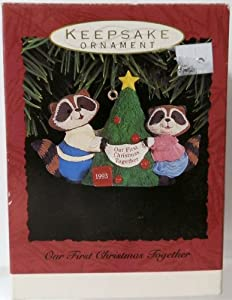 Hallmark Keepsake Ornament Our First Christmas Together QX564-2 1993