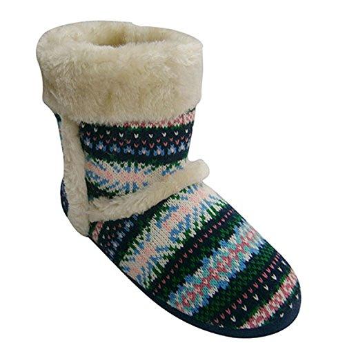 Tipo stivale donna scarpa con ornamenti per capelli puntare su Cane Gioseppo multicolore taille 40