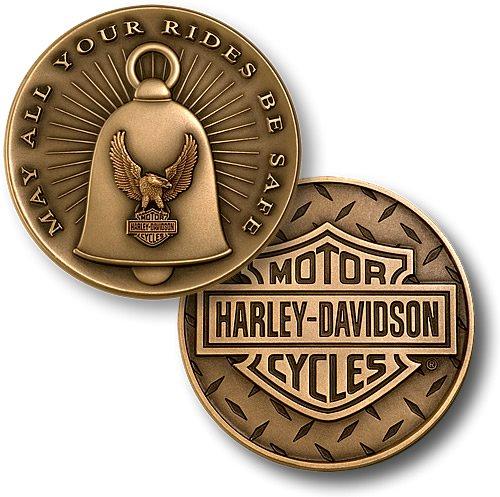 Harley-Davidson Gremlin Bell Challenge Coin