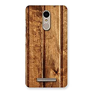 Delighted Wood Texture Back Case Cover for Xiaomi Redmi Note 3