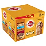 Pedigree Pouch Dog Food Favourites in...