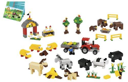LEGO Education Animals Set For Farm, Sea, Desert & Dinosaur 779334 (1,081 Pieces)