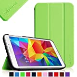 Fintie Samsung Galaxy Tab 4 8.0 (8-Inch) Smart Shell Case - Ultra Slim Lightweight Stand Cover with Auto Sleep/Wake Feature, Green