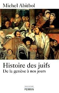 """Résultat de recherche d'images pour """"Michel Abitbol, Histoire des juifs (Perrin)"""""""