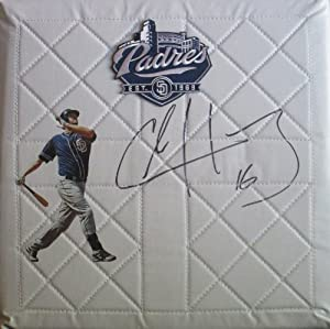 Chase Headley Autographed Signed San Diego Padres Photo Downtown Skyline Logo Full... by Southwestconnection-Memorabilia