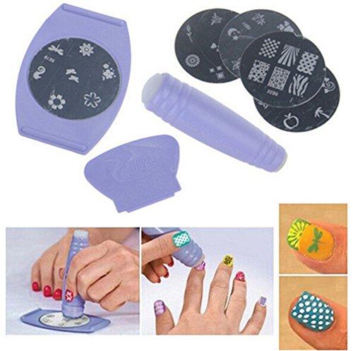 Nail Art Printing Machine Fai Da Te Manicure Set Ragazze Nail Art Design Attrezzatura