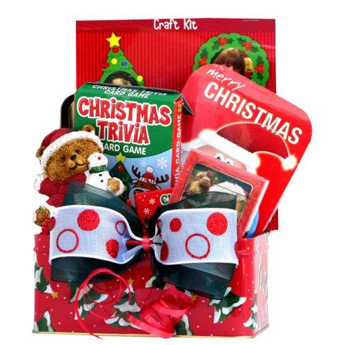 Gift baskets for christmas kids