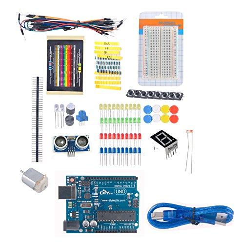 Diymall uno r beginner learning kit for arduino starter