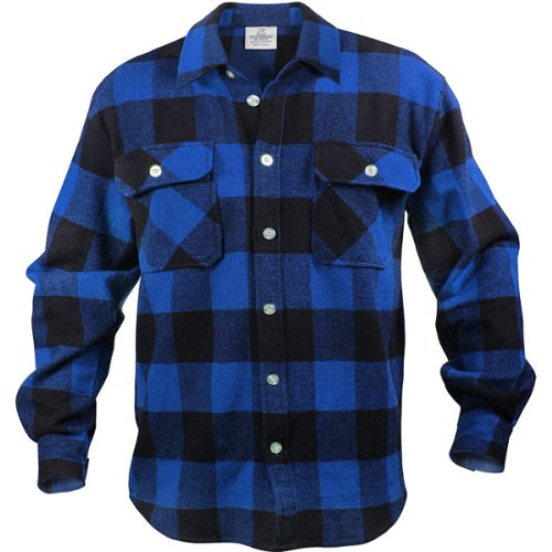 Rothco Extra Heavy Weight Brawny Flannel Shirt Ebay