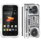 Samsung Galaxy Rush Retro Boom Box Hard Case Phone Cover