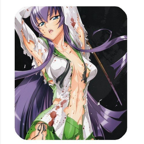 Mouse Pad Highschool Of The Dead Hotd High School Rei