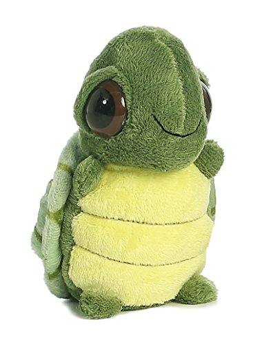 Aurora World Dreamy Eyes Turtle with Bubble Sound Plush