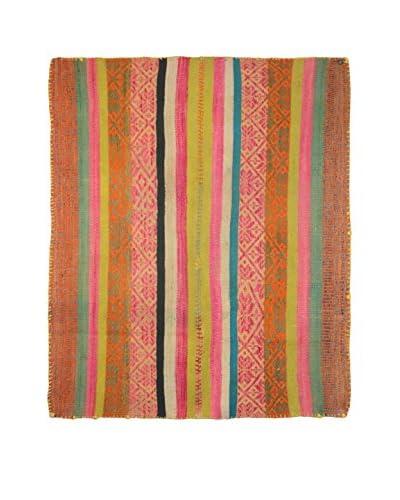 Aviva Stanoff One-of-a-Kind Peruvian Heirloom Rug, Multi, 5' 7 x 4' 11