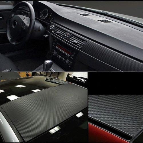 us seller diy carbon fiber vinyl wrap sticker for car auto vehicle computer keybard mouse motor. Black Bedroom Furniture Sets. Home Design Ideas