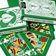 Bicycle Rider Back Green Deck with Gaff Cards for Magic