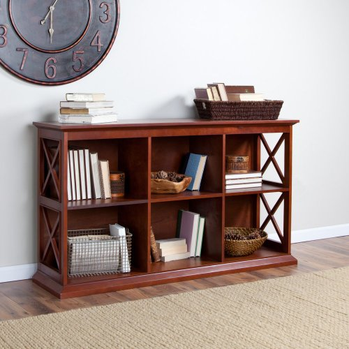 Cheap The Hampton Console Table Stackable Bookcase – Cherry (KY275-CH)