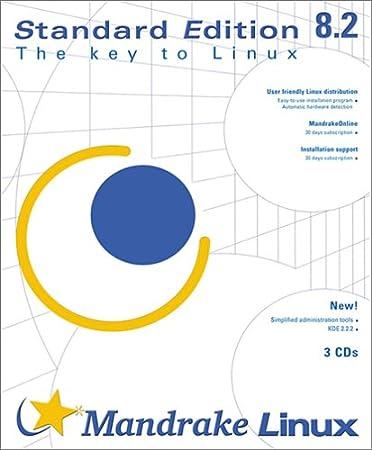 Mandrake Linux Standard Edition 8.2