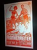 Donavon Frankenreiter Rare Original Portland Concert Tour Flyer Gig Poster