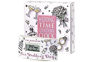 Wedding Gift Ideas Overseas : Amazon.com: Wedding Countdown Clock: Home & Kitchen