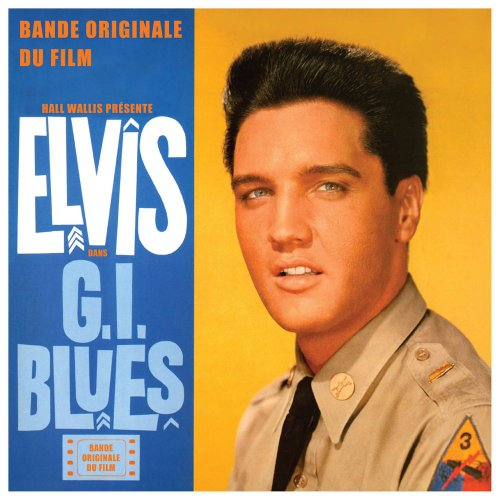 G-I-Blues-Cafe-Europa-En-Uniforme-Elvis-Presley-Audio-CD