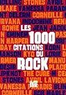 1000 citations du rock par Guilleminot