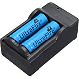 Charger with Two 14500 Rechargable Batteries