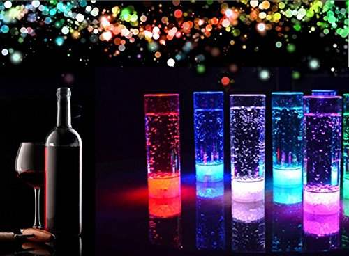 400ML 7 Changing Colors LED Drink Cup Night Light LED Flashing Juice Light for KTV Party Bar Flameless Lights Cup (Denso Ac Compressor Kit compare prices)