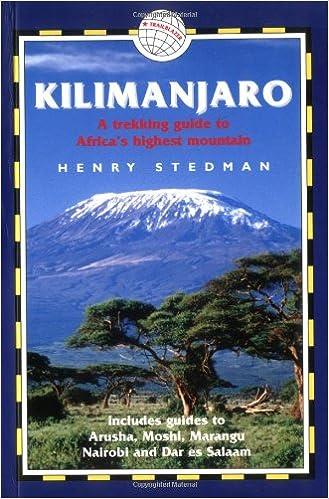 2003 - Kilimanjaro - The Trekking Guide, 1. Auflage, von H.Stedman