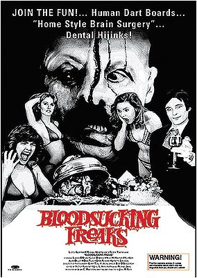 BLOOD SUCKING FREAKS FAMOSO-FILM-POSTER 61 X 91 CM