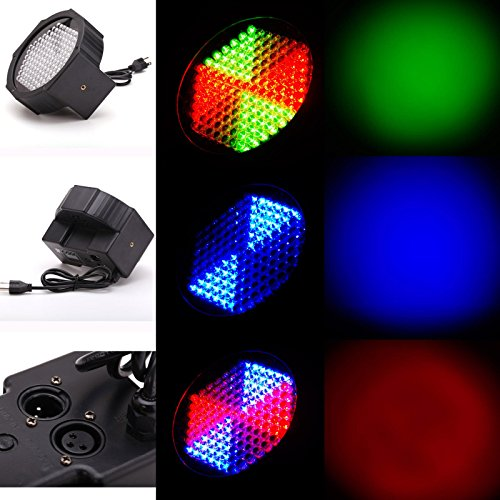 Gbb Dmx512 Rgb 127 Leds Effect Light Stage Lighting 7 Channel For Disco Dj Party Show Xmas Sales Get Yours Now!