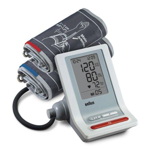 Braun BP4600MR-WE ExacFit Upper Arm Blood Pressure Monitor with 2 Cuffs