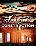 img - for Carpentry & Construction book / textbook / text book