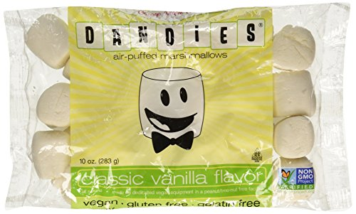 Dandies Vegan Marshmallows, Vanilla, 10 Ounce