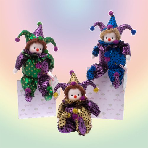 GreenTree Musical Clown Set Wind-Up Dolls (Set of 3)