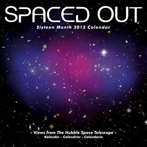 Spaced Out 2013 Wall Calendar