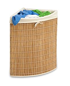 Amazon Com Honey Can Do Hmp 01618 Wicker Corner Hamper