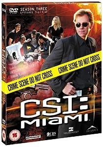 C.S.I: Crime Scene Investigation - Miami - Season 3 Part 1 [DVD] [2004]