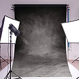 Mohoo 5x7ft Silk Photography Background Thin Retro Pattern Photography Backdrop Studio Props (Updated Material)