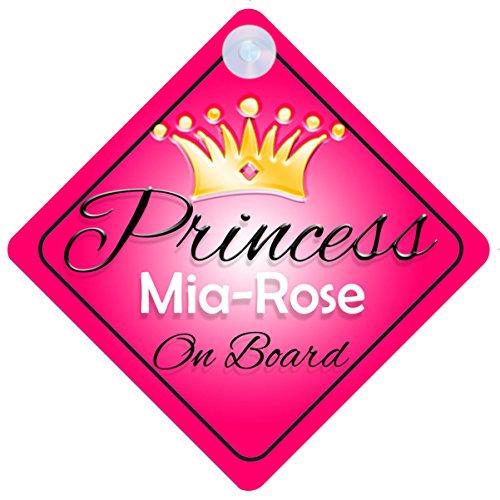 mia-rose-principessa-on-board-baby-girl-auto-personalizzato-001-targa-per-regalo