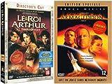 echange, troc Le Roi Arthur / Armageddon - Bipack 2 DVD