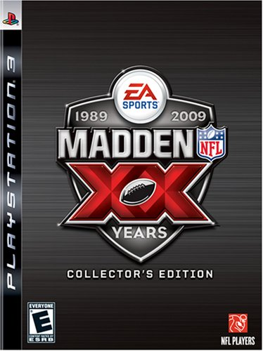 Madden NFL 09 20th Anniversary Collectors Edition - Playstation 3 (Nfl Head Coach Ps3 compare prices)