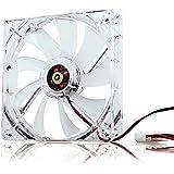 Neuftech® 4 pin 120 mm Blau LED Kühlerlüfter CPU Gehäuse Lüfter PC slient Cooler Fan