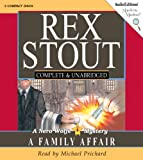 A Family Affair: Nero Wolfe Mystery (Mystery Masters)