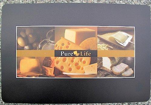 na-und 2 Tischsets Platzset 28x44cm Pure Life / käse