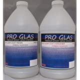 ProGlas 1000 Table Bar Top Clear Epoxy Resin - 2 Gallon Kit (Color: Clear, Tamaño: 2 Gallon Kit)
