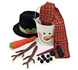 Complete Snowman Decorating Kit Everything You Need Except the Snow